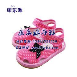 儿童吸汗布凉鞋、苏州凉鞋、康乐源(查看)图片