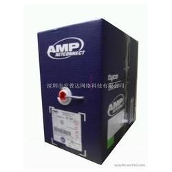 AMP超五类非屏蔽网线工程线蓝箱图片