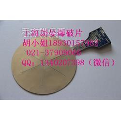 平板型防爆板 泄放压力膜片 破裂片图片