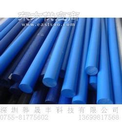进口蓝色PPS棒聚苯硫醚棒图片