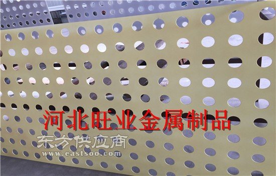 穿孔 压型 吸音钢板图片