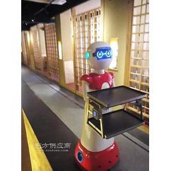 还在为客源担心嘛,智能送餐机器人来了,让你的餐厅更有特色图片