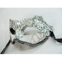 万圣节面具新款蕾丝面具,PVC面具图片