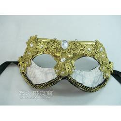 供应新款万圣节舞会道具手绘面具夜店狂欢派对面具图片
