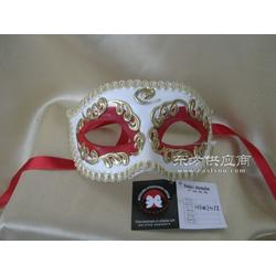供应舞会派对面具化妆表扬道具手绘半脸面具图片