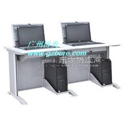 供应升降式翻转电脑桌,博奥钢木培训室翻转电脑桌厂家直销图片