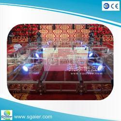 钢化玻璃拼装舞台、舞台架子图片
