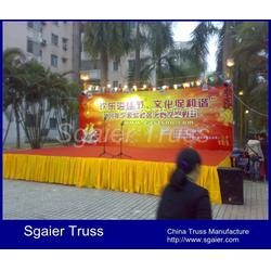舞台背景墙 酒店移动舞台 大型流动舞台图片