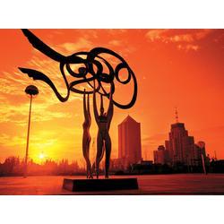 华艺雕塑客户信赖(图),城市景观雕塑,廊坊城市雕塑图片