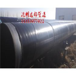 加强级三层PE防腐螺旋焊管生产厂家图片