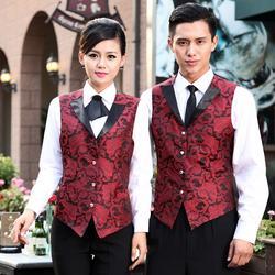 酒店工作服,酒店工作服,佰秀服装图片