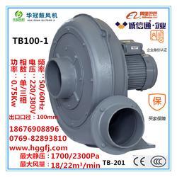 0.75kw中压鼓风机尺寸_风机_透浦式中压风机TB201图片