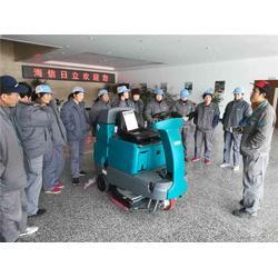 进口工业洗地机车间仓库专用-青岛洗地机-坦能山东图片