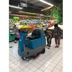 烟台洗地机,坦能T7驾驶式洗地机噪音,青岛捷立清洁设备图片