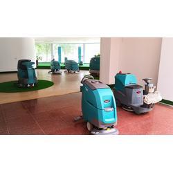 坦能商场专用洗地机T300e-坦能山东-青岛洗地机图片