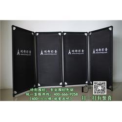 折叠布艺围栏|功彩安防专业布艺围栏质量为本|湖北围栏图片