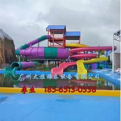 西安水滑梯|大旗游乐设备|水滑梯设备图片