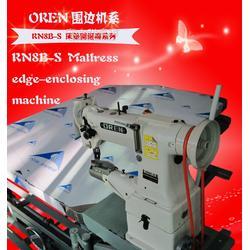 奥玲工业专用床垫围边机 自动翻转围边图片