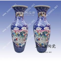定做手绘陶瓷大花瓶 落地花瓶 商务礼品花瓶图片