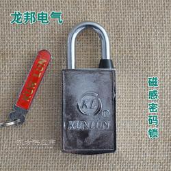 龙邦无钥匙孔磁感密码锁 40mm 挂锁 电表箱锁图片