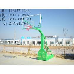 地埋式单臂篮球架安装地埋式单臂篮球架厂家10图片