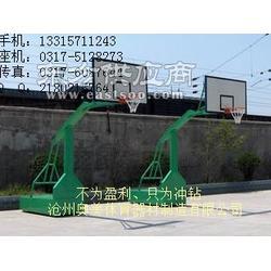 凹箱式篮球架悬臂篮球架厂家1图片