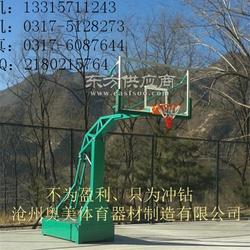 地埋式圆管篮球架219圆管篮球架小学篮球架厂家图片