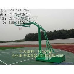 地埋式圆管篮球架移动式篮球架生产厂家3图片