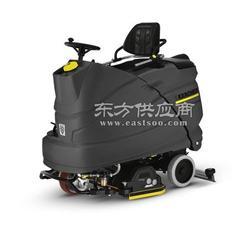 凯驰驾驶式盘刷、滚刷互换型全自动洗地吸干机 B150图片