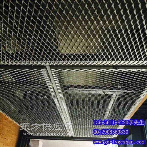 拉网板吊顶 铝网板天花厂家图片
