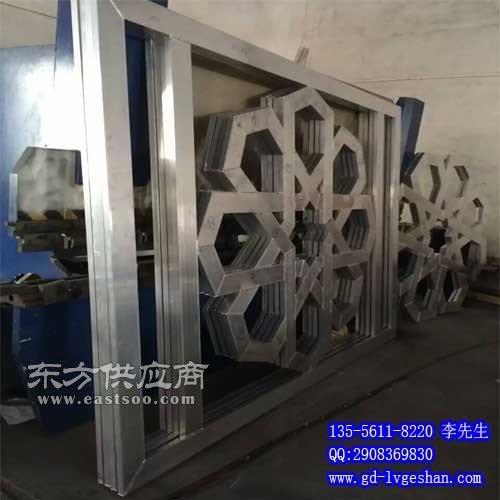 铝方管窗花 铝窗花生产厂家图片