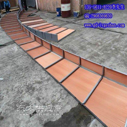 外墙吸音铝板 瓦楞板厂家图片