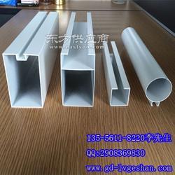 型材方通规格 铝圆管方通 铝型材厂家图片