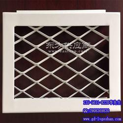 菱形铝网板 拉网板吊顶图片