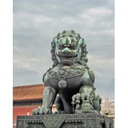 石狮子雕塑-石狮子-坚美花岗岩雕刻(查看)图片