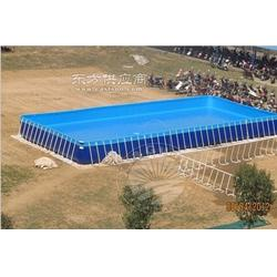 长方形支架水池供应图片