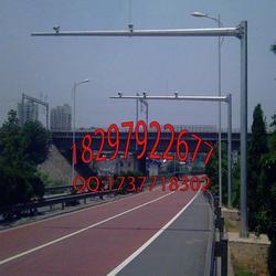 蚌埠标志杆_钜亿信誉保障_指示牌标志杆生产厂家图片
