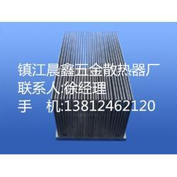 铝型材散热器片、新区晨鑫五金散热器、型材散热器图片