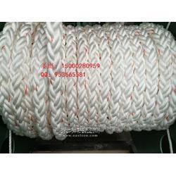 供应丙纶长丝复合线八股绳编织绳,高强度丙纶长丝系泊缆绳图片