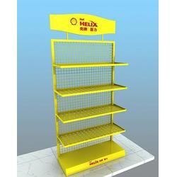 西安定做润滑油展示货架、睿牌货架、定做润滑油展示货架图片
