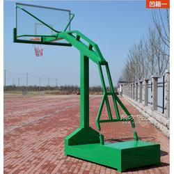 普通篮球架槽钢底座篮球图片