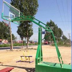 地埋方管篮球架,凹箱仿液压篮球架,移动式篮球架图片