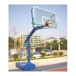 篮球架框网,电动液压篮球架安装图片