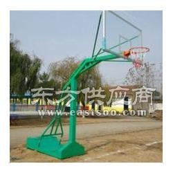 遥控电动液压篮球架,标准填埋式篮球架安装图片