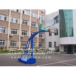 165圆管篮球架厂家,中小学可升降篮球架图片