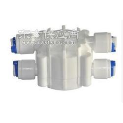 无泵纯水机四面阀 2分快接 家用直饮净水器四面阀图片