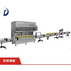 米糠油灌装机哪家好,武汉米糠油灌□装机,全自动米糠油灌装机博锐图片