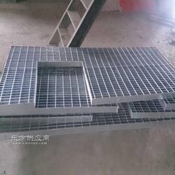 钢格板加工流程/碳钢格栅板特点及抗压强度/热镀锌处理钢格栅板主要用途图片