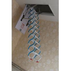 伸缩楼梯、扶居阁楼梯(在线咨询)、济南伸缩楼梯图片