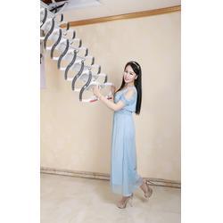阁楼升降楼梯,扶居阁楼梯(在线咨询),秦皇岛楼梯图片